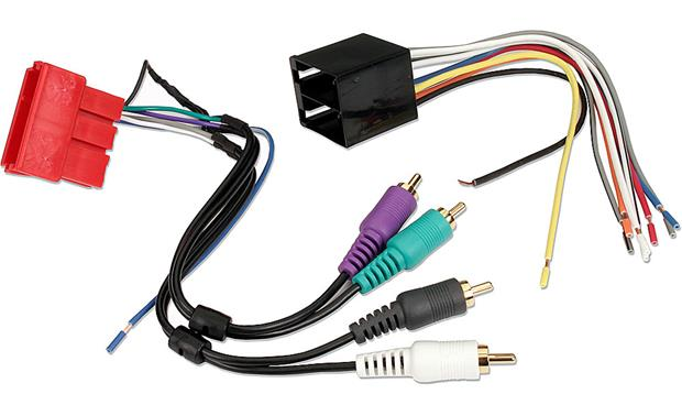 x120701787 f metra 70 1787 receiver wiring harness for select 1994 07 audi and  at mifinder.co