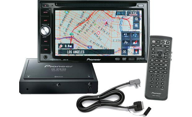 Pioneer AVIC-D3X Package Front