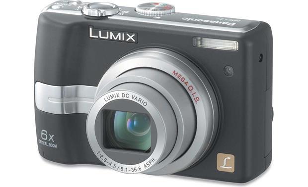 panasonic lumix dmc lz7 black 7 2 megapixel digital camera at rh crutchfield com Newest Panasonic Lumix Camera Panasonic Lumix G