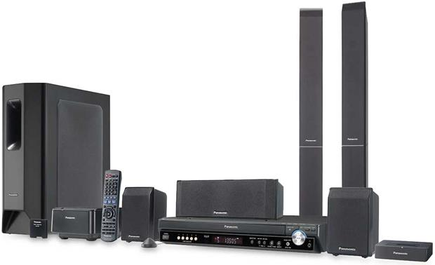 Panasonic SCPT950 DVD home theater system with 1080p DVD