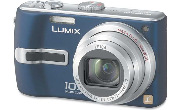 panasonic lumix dmc tz3 blue 7 2 megapixel digital camera with 10x rh crutchfield com Panasonic DMC TZ3 Manual Panasonic DMC- TZ6