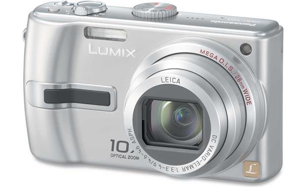 panasonic lumix dmc tz3 silver 7 2 megapixel digital camera with rh crutchfield com Glossary for Panasonic DMC-TZ3 Panasonic DMC TZ3 Accessories