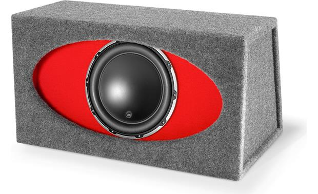 """2 12/"""" Ported W6 Subs Vented Sub Box Subwoofer Enclosure for JL Audio 12w6v2"""