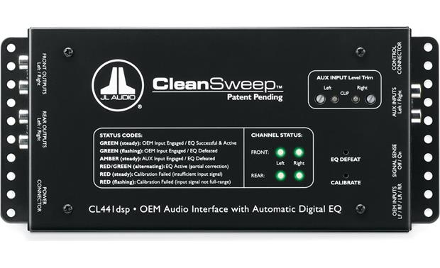 JL Audio CL441dsp CleanSweep®