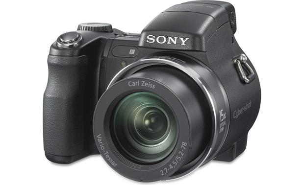 sony cyber shot dsc h7 8 1 megapixel digital camera with 15x optical rh crutchfield com