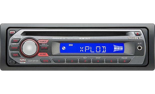 sony cdx gt120 cd receiver at crutchfield