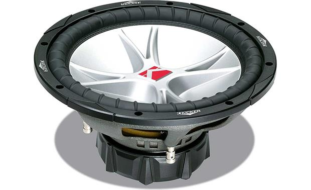 Kicker Comp Cvr 12 Box Specs: Kicker CompVR 07CVR124 12 subwoofer with dual 4-ohm voice coils at rh:crutchfield.com,Design