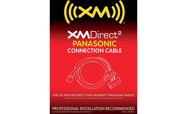 XM Direct 2 Panasonic Adapter Cable Front