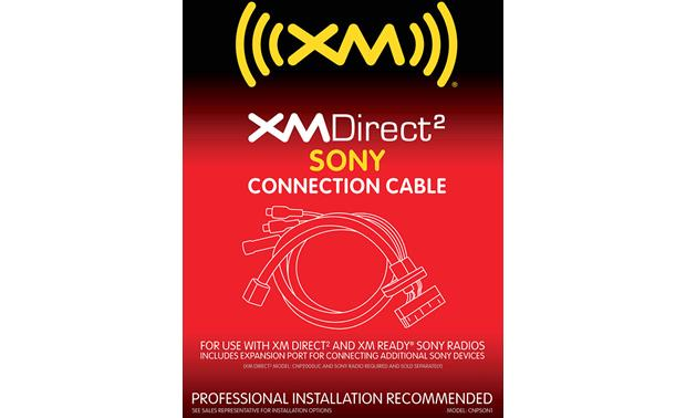 XM Direct 2 Sony Adapter Cable Front