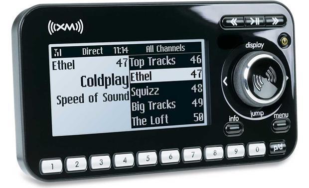 audiovox xpressr dock play xm satellite radio with split screen rh crutchfield com Audiovox Satellite Radio Receiver