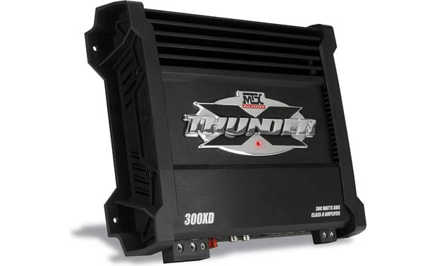 mtx x thunder 300xd mono subwoofer amplifier 300 watts rms x 1 at 2mtx x thunder 300xd front