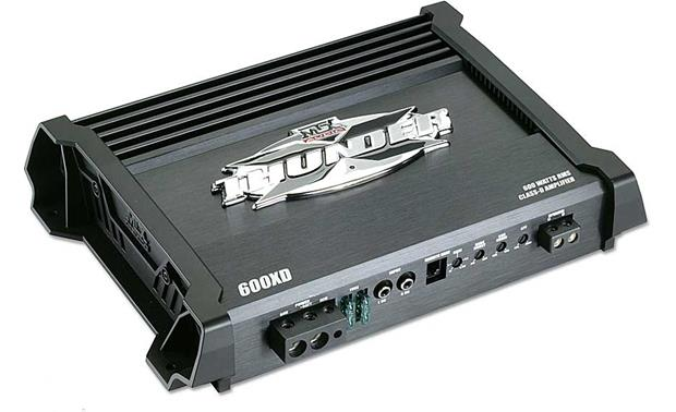 mtx x thunder 600xd mono subwoofer amplifier 600 watts rms x 1 at 2mtx x thunder 600xd front