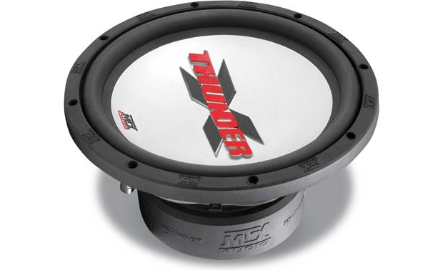 Mtx xt10 04 x thunder series 10 4 ohm subwoofer at crutchfield mtx xt10 04 front publicscrutiny Images