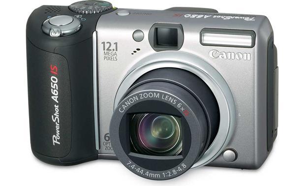 canon powershot a650 is 12 1 megapixel digital camera with optical rh crutchfield com canon a650 user manual canon a650 manual pdf
