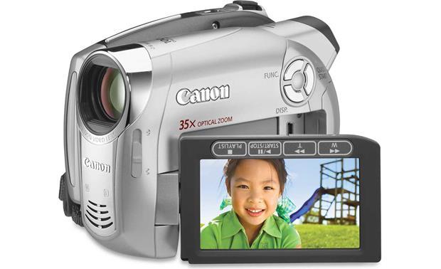 canon dc220 dvd camcorder at crutchfield com rh crutchfield com Canon Elura 70 Charger for Canon DC-10