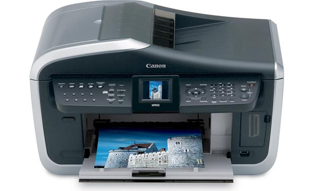 canon pixma mp830 multi function printer scanner copier fax machine rh crutchfield com canon mp830 owners manual canon mp830 owners manual