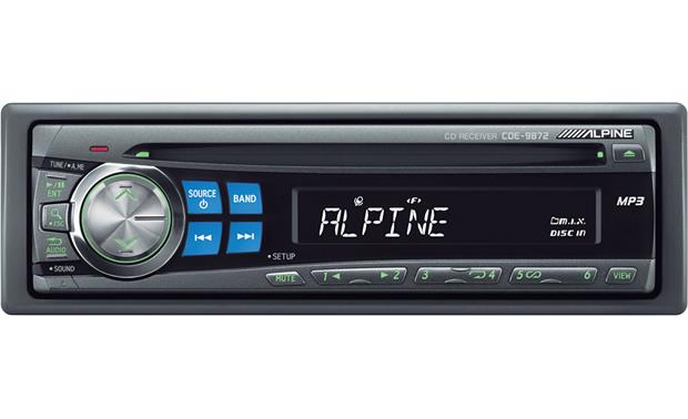 Alpine CDE-9872 Front
