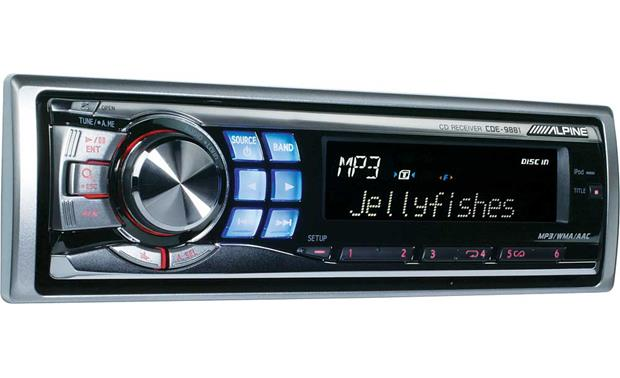 [SCHEMATICS_48YU]  Alpine CDE-9881 CD receiver with MP3/WMA/AAC playback at Crutchfield | Alpine Cde 9881 Wiring Harness |  | Crutchfield