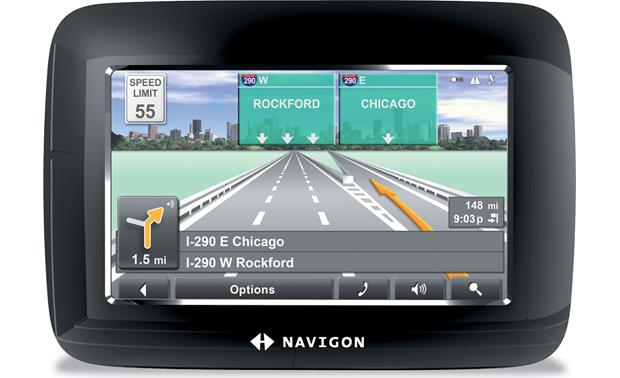 navigon 7100 portable car navigation system with. Black Bedroom Furniture Sets. Home Design Ideas