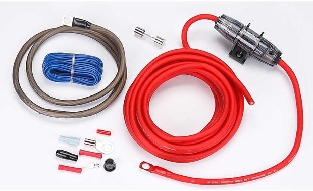 rockford fosgate rfk8 8 gauge amplifier power wiring kit at rh crutchfield com sub wiring kit canadian tire sub wiring kit diagram