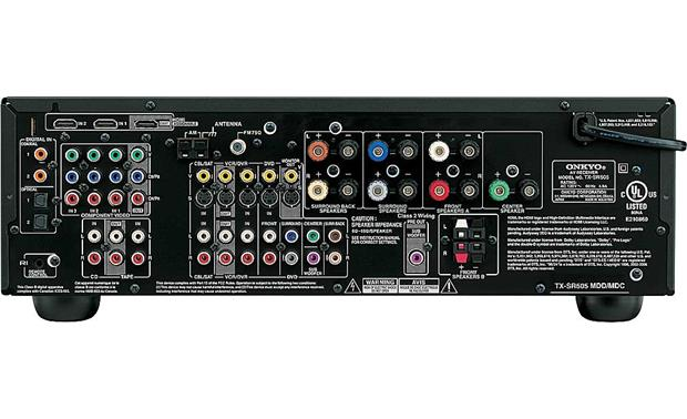 Onkyo TX-SR505 (Silver) Home theater receiver with HDMI ...
