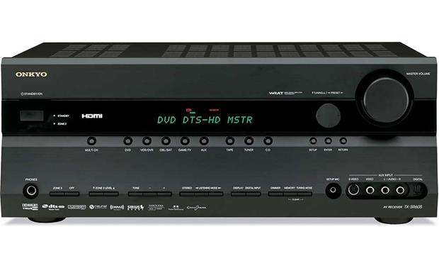 onkyo tx sr605 black home theater receiver with hdmi switching and conversion reviews