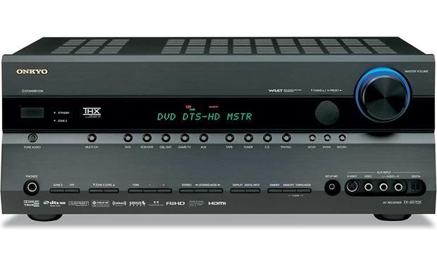 onkyo tx sr705 black thx select2 home theater receiver with hdmi rh crutchfield com