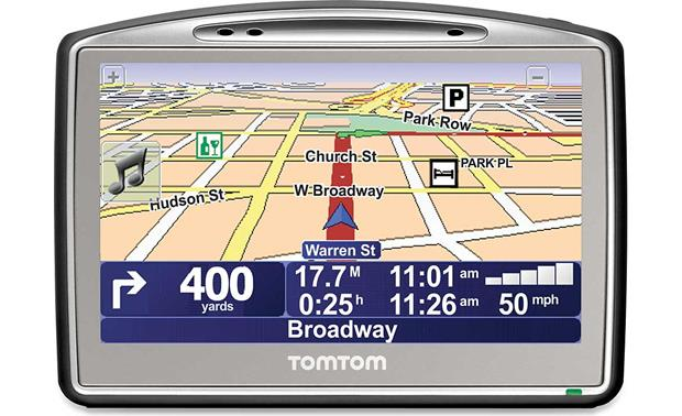 TomTom GO 720 Portable car GPS navigator with Bluetooth® at