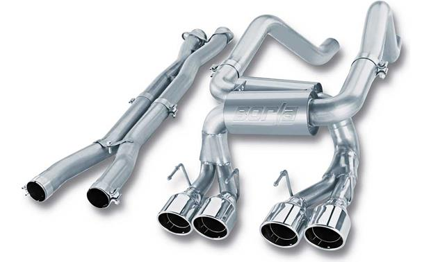 Borla Exhaust System 140191 (with X-pipe) Front