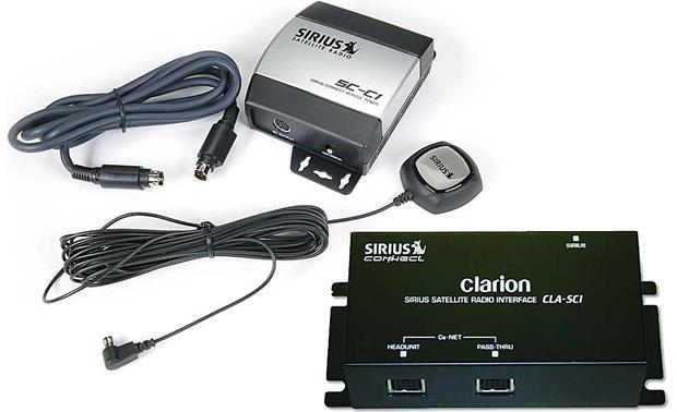 x700SiRCLAR f sirius clarion package (factory refurbished) get sirius satellite clarion cmd5 wiring harness at n-0.co