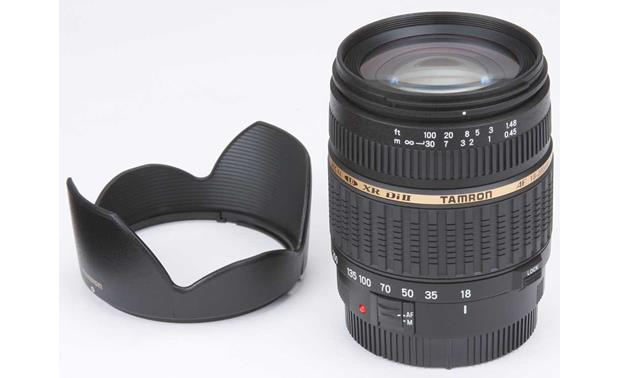 Tamron 18-200mm Zoom Lens Front