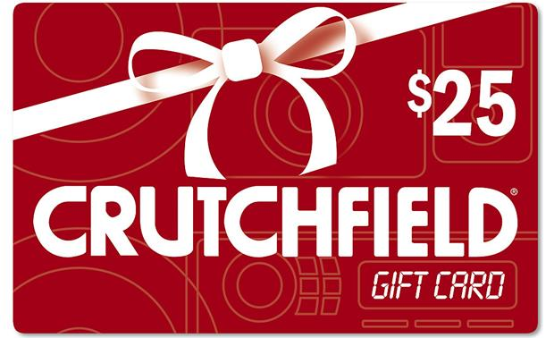 The Crutchfield Gift Card $25