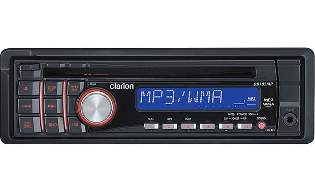 clarion db185mp cd receiver at crutchfield comclarion db185mp front