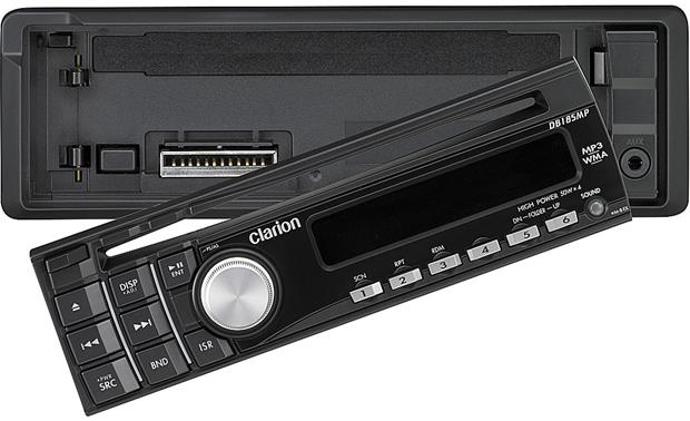 Clarion DB185MP CD receiver at Crutchfield clarion 16 pin connector Crutchfield