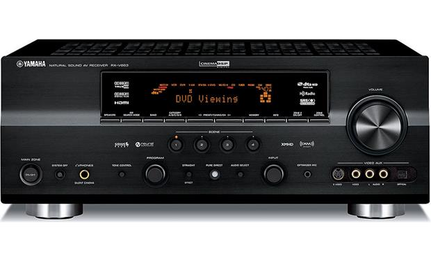 Yamaha rx v863 home theater receiver with hdmi switching for Yamaha multi room receiver
