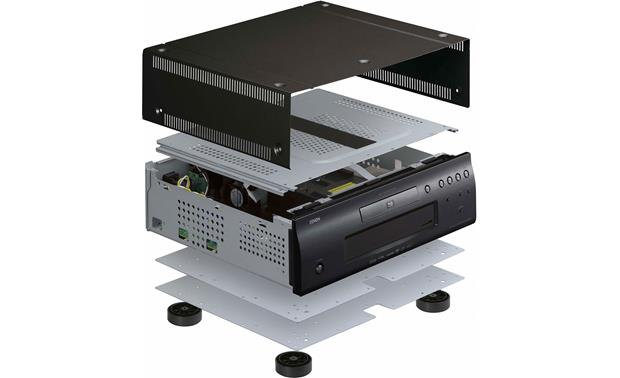 Denon DVD-2500BTCI Rigid, multi-layer construction