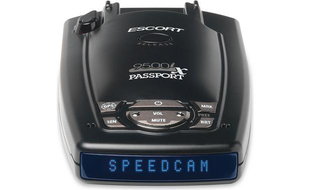 Escort Passport 9500ix Blue display