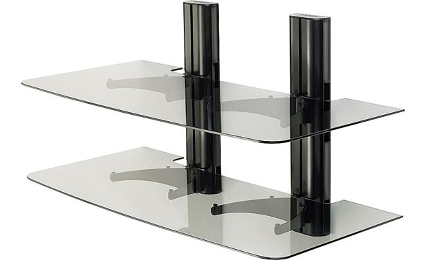 Sanus Vf2022 Dual Column Wall Mounted Component Rack At