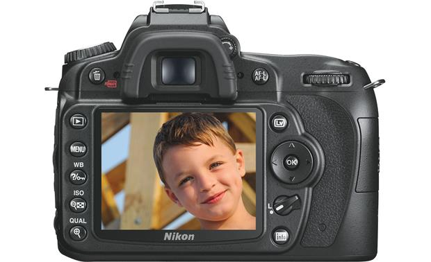Nikon D90 (no lens included) Back