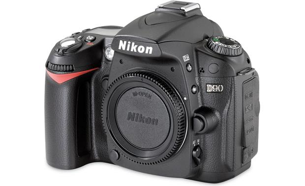 Nikon D90 (no lens included) Front