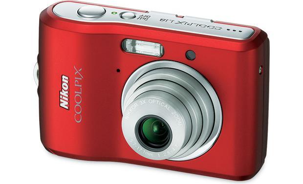 nikon coolpix l18 red 8 megapixel digital camera with 3x optical rh crutchfield com Nikon Coolpix L18 Digital Camera Nikon Coolpix L18 Accessories