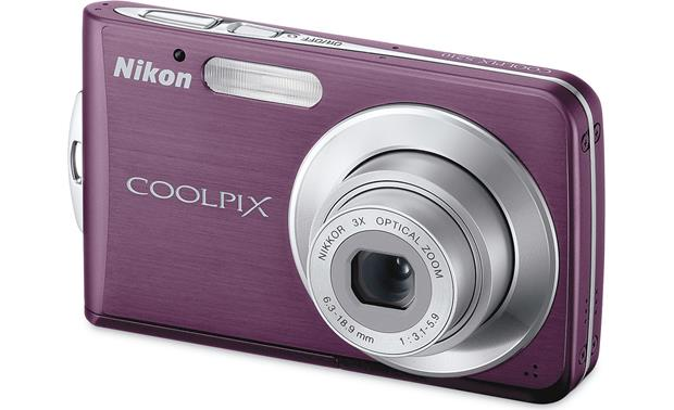 nikon coolpix s210 plum 8 megapixel digital camera with 3x optical rh crutchfield com Nikon Coolpix S200 Nikon Coolpix S210 Cable