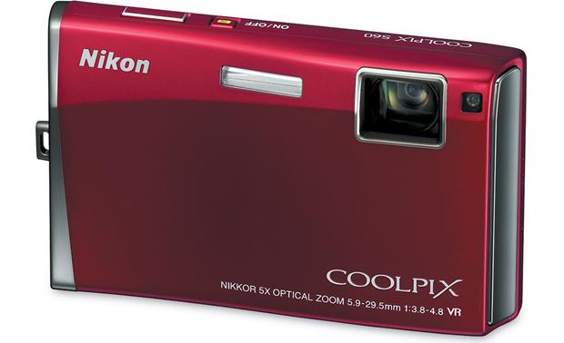 nikon coolpix s60 red 10 megapixel digital camera with 5x optical rh crutchfield com nikon d60 user manual download nikon d60 user manual printable