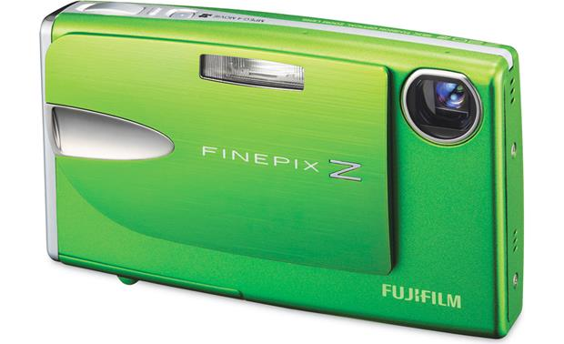 fujifilm finepix z20fd green 10 megapixel digital camera with 3x rh crutchfield com