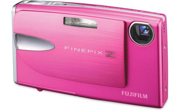 fujifilm finepix z20fd pink 10 megapixel digital camera with 3x rh crutchfield com
