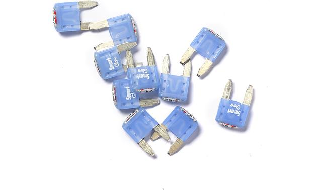 Littelfuse Smart Glow Mini® Blade-style Fuses Front