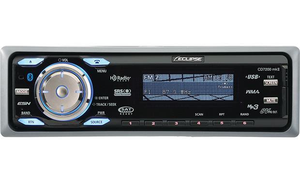 Eclipse Car Stereo: Eclipse CD7200 Mk II CD Receiver At Crutchfield.com