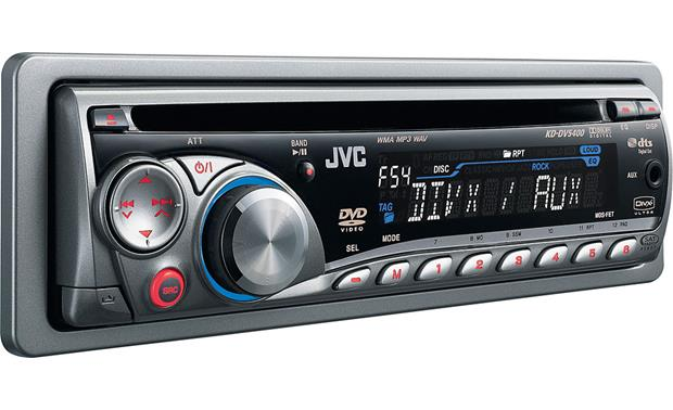 JVC KD-DV5400 on
