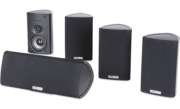 Polk Audio RM75 Home Theater Speaker System Front