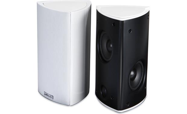 Polk Audio Rm8 White Bookshelf Wall Mount Speakers At Crutchfield